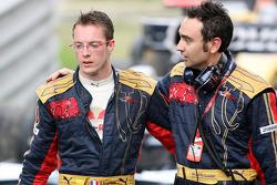 Sébastien Bourdais and race engineer Claudio Balestri