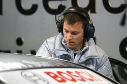 Stefan Gugger, HWA Mercedes, data engeneer