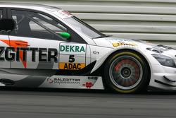 Glowing brake disc on the car of Jamie Green, Team HWA AMG Mercedes, AMG Mercedes C-Klasse