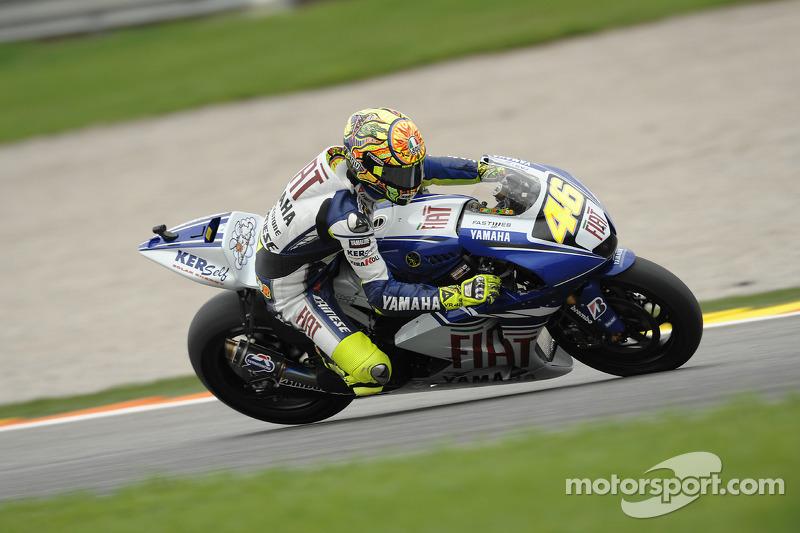 2008: Valentino Rossi (Yamaha YZR-M1)