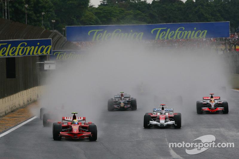 Inicio: Felipe Massa, Scuderia Ferrari líder