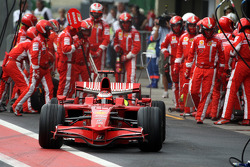 Pitstop, Kimi Raikkonen, Scuderia Ferrari, F2008