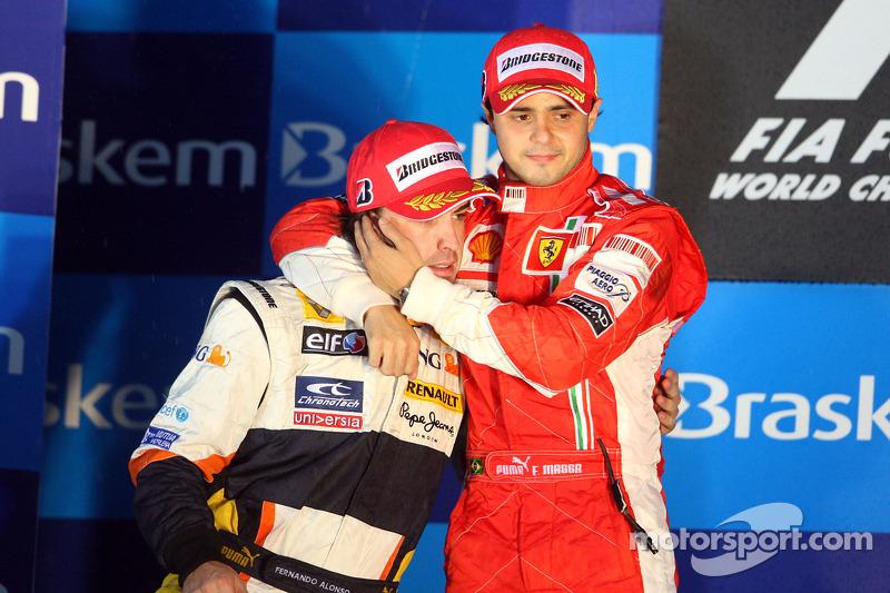 GP Brasil 2008: campeón por segundos