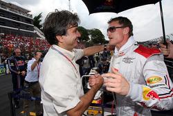 Pasquale Lattuneddu and David Coulthard