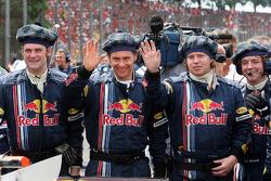 Des membres de Red Bull Racing