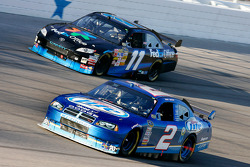 Kurt Busch and Denny Hamlin