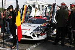 PekaRacing nv Saleen S7, Anthony Kumpen and Bert Longin