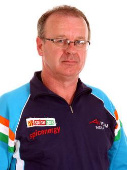 Gordon Flynn, manager de l'équipe A1 d'Inde