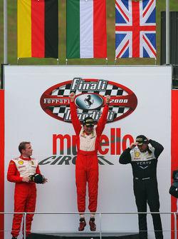 Friday race: Coppa Shell podium
