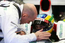 Bruno Senna, Test Driver, Honda Racing F1 Team, Jock Clear, Honda Racing F1 Team, Senior Race Engineer to Rubens Barrichello