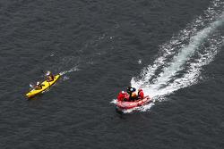 Port Arthur, Australia: Jarad Kohlar and Deanna Blegg of Team Keen in action