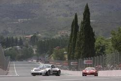 #60 Prospeed Competition Porsche 997 GT3 RSR: Mikael Forsten, Markus Palttala, #50 AF Corse Ferrari F430: Toni Vilander, Gianmaria Bruni