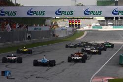 Отмененный старт гонки