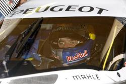 Sébastien Loeb in the Peugeot Sport Total Peugeot 908