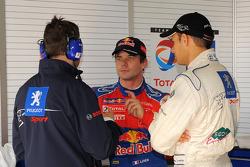 Sébastien Loeb and Stéphane Sarrazin