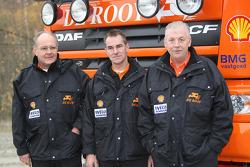 Team de Rooy: driver Hans Bekx, co-driver Tonnie Maessen, crew member Edwin Willems