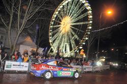 Khalid Al Qassimi and Michael Orr, Ford World Rally Team Ford Focus RS WRC