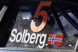 The Impreza WRC2008 of Petter Solberg and Phil Mills