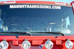 MAN Rally Team presentation: MAN Rally truck detail
