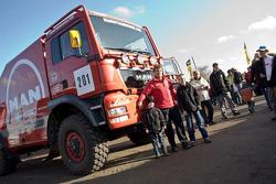 MAN Rally Team presentation: Hans Stacey