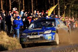 Mads Ostberg and Ole-Kristian Unnerud, Subaru WRC