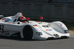 Robert Kubica, BMW Sauber F1 Team gets as a birthday present a drive in the BMW V12 LMR