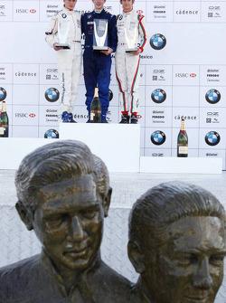 Podium: World Final winner Alexander Rossi, second place Michael Christensen, third place Esteban Gutierrez