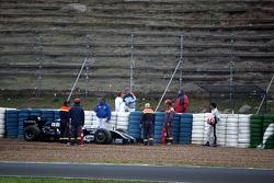 Kazuki Nakajima, Williams F1 Team stops, track ve interim 2009 Car- Formula 1 testi, Jerez