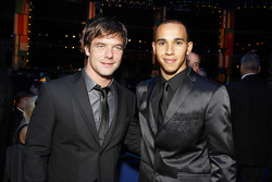 FIA World Rally champion Sébastien Loeb and FIA Formula 1 World champion Lewis Hamilton