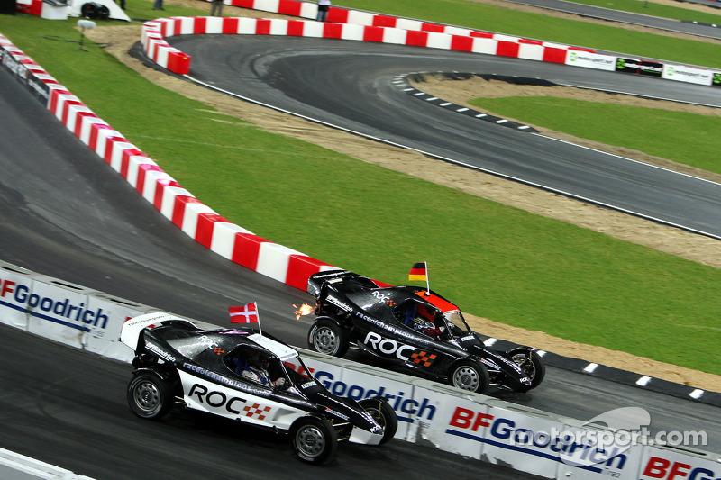 Heat, race 1: Michael Schumacher vs Tom Kristensen