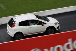 Fiat Punto Abarth on track
