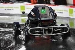 Sebastian Vettel in an RX150 Buggy