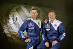 Volkswagen Motorsport: driver Dieter Depping and co-driver Timo Gottschalk