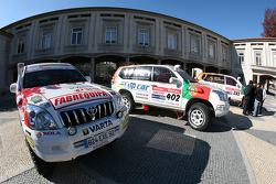Equipa Padock: the Equipa Padock vehicles