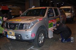 Loprais Tatra Team service vehicle at scrutineering