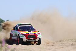 #303 Mitsubishi Racing Lancer: Luc Alphand and Gilles Picard