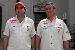 Francisco Pita and Humberto Goncalves