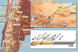 Stage 12: 2009-01-15, Fiambala to La Rioja