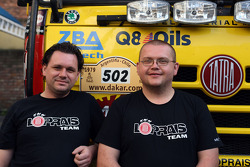 Loprais Tatra team members