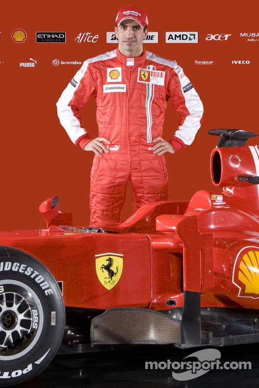 Marc Gene und der neue Ferrari F60