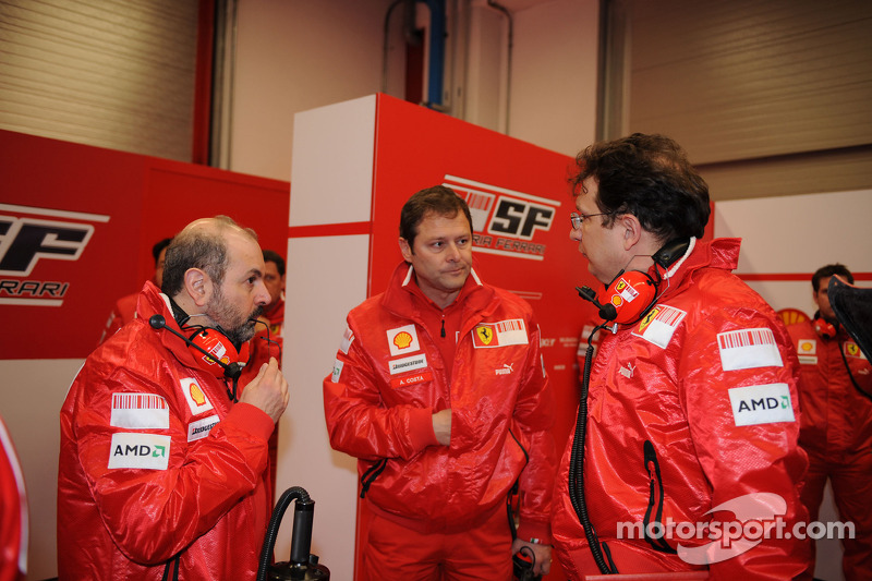 Gilles Simon, Aldo Costa and Nikolas Tombazis