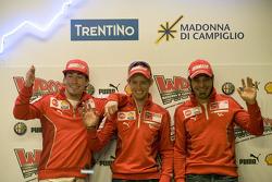 Conferencia de prensa: Nicky Hayden, Casey Stoner y Vittoriano Guareschi, Ducati