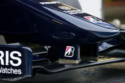 The new Williams FW 31 nose detail