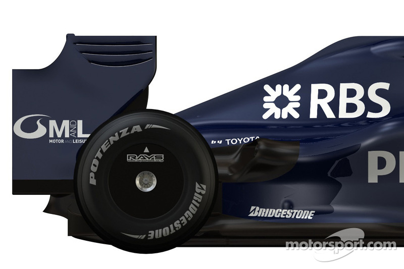 detay, yeni Williams FW 31