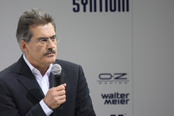 Press conference: Dr. Mario Theissen, BMW Sauber F1 Team, BMW Motorsport Director