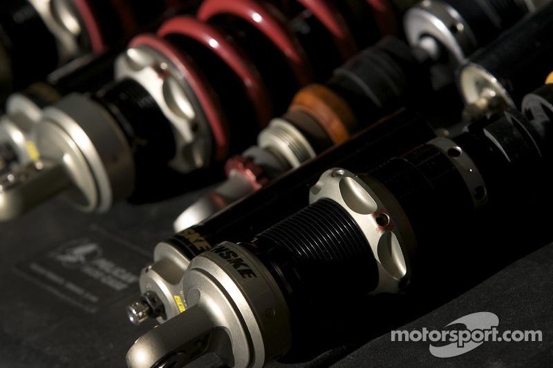Brumos Racing Porsche Riley suspension parts