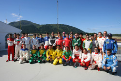 A1GP drivers photoshoot