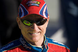 Pole victory lane: second fastest qualifier Mark Martin, Hendrick Motorsports Chevrolet