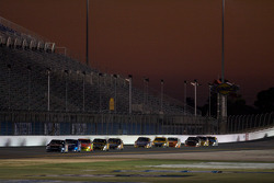 Brian Vickers, Red Bull Racing Team Toyota leads the field on the Superstretch
