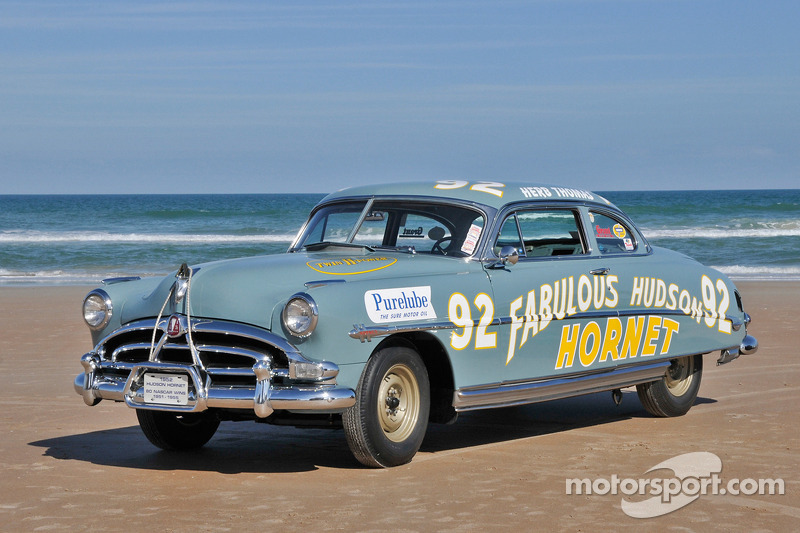Living Legends Of Auto Racing Beach Parade Hudson Hornet
